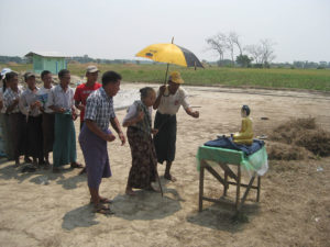 Burmese Buddhist Bamar, Karen, and Muslims Build a School Together